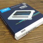 HDDをSSDに交換で速度アップ!